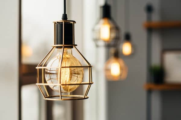 Go Vintage with Industrial Lighting
