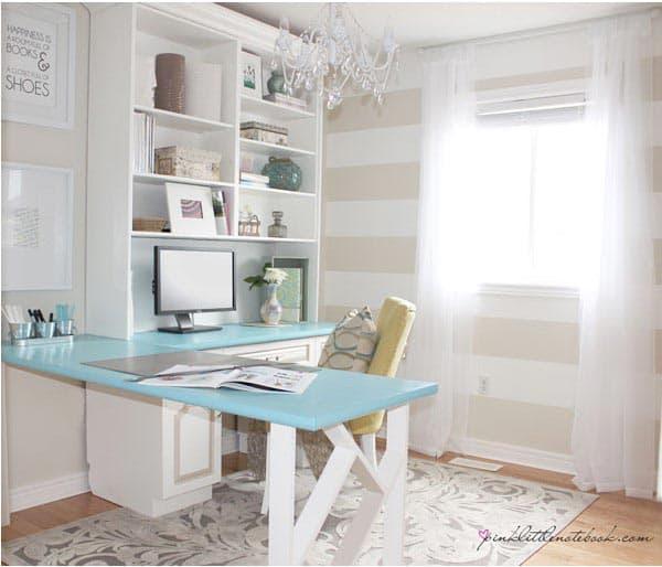 L shaped desk thistlewoodfarms