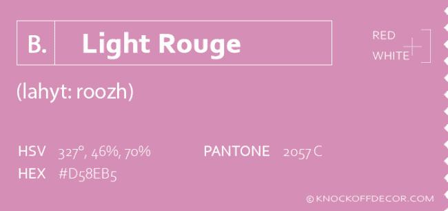 Light rouge info box