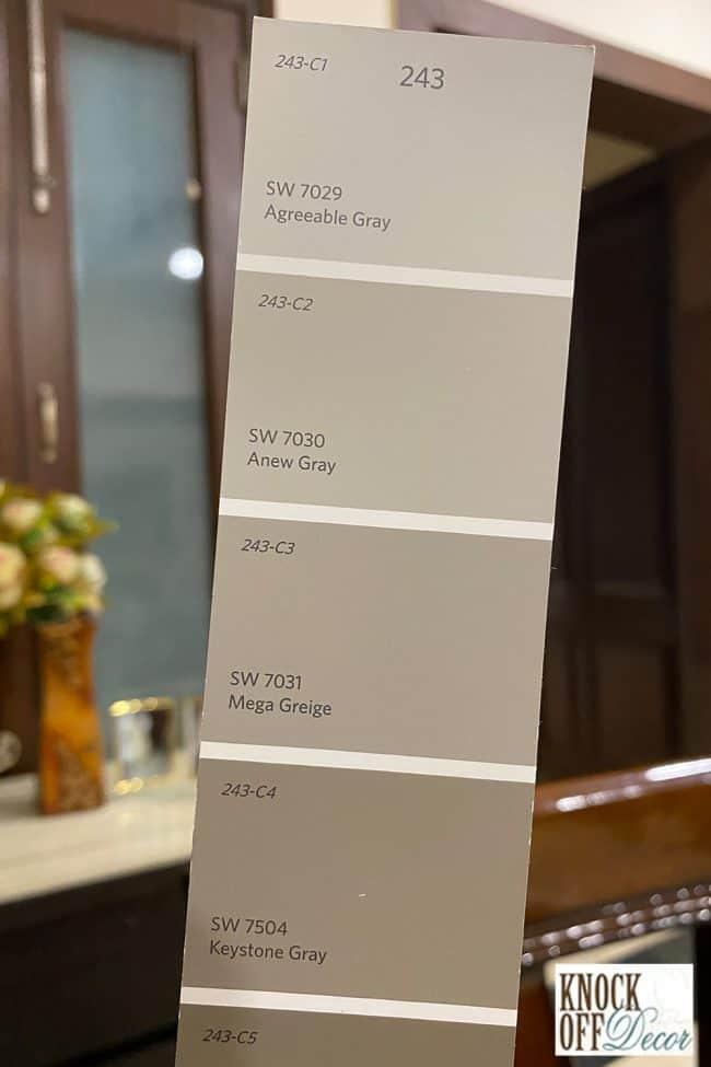 Mega griege Color Deck