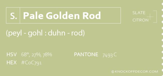 Pale golden rod info box
