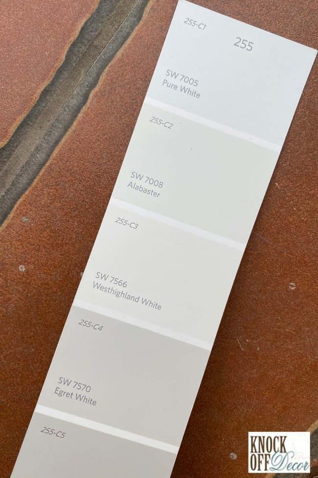 SW Alabaster single Color Deck