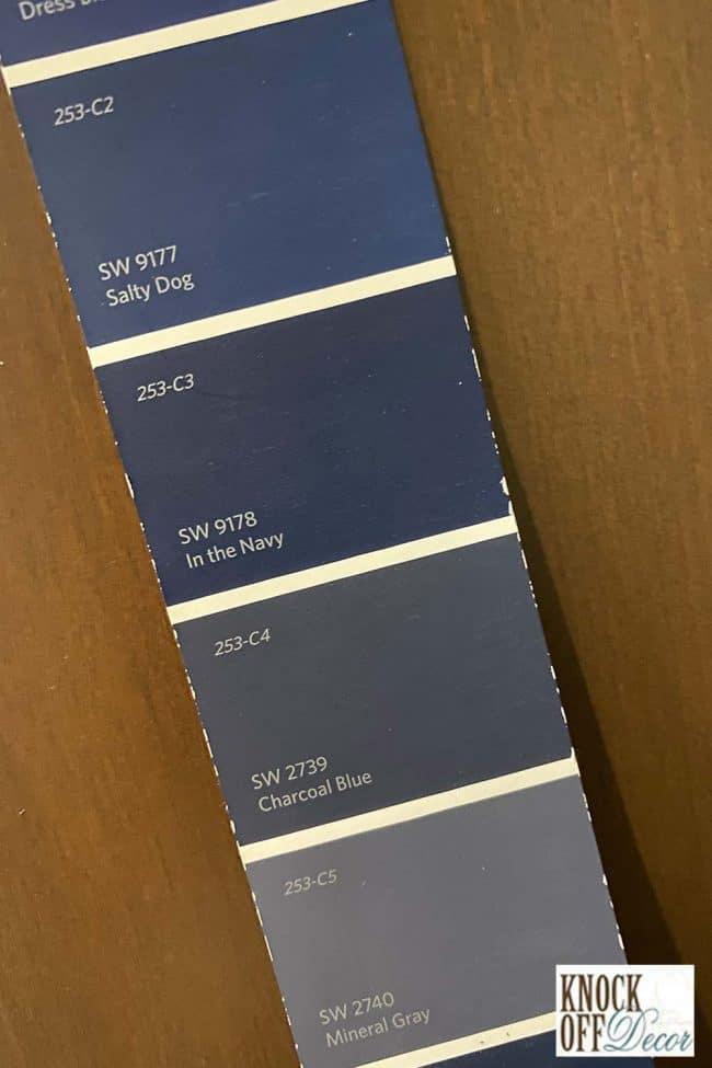 SW Charcoal blue single Color Deck