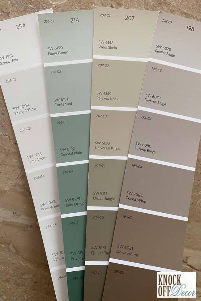 SW Coordinated Color Deck