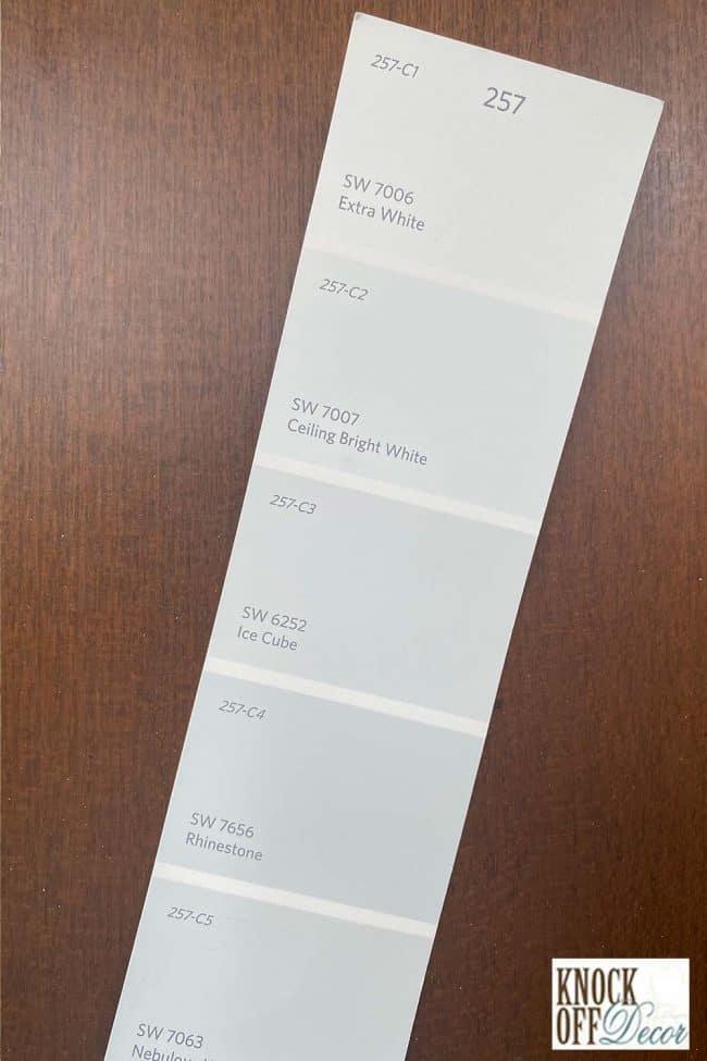 SW Extra white singe Color Deck