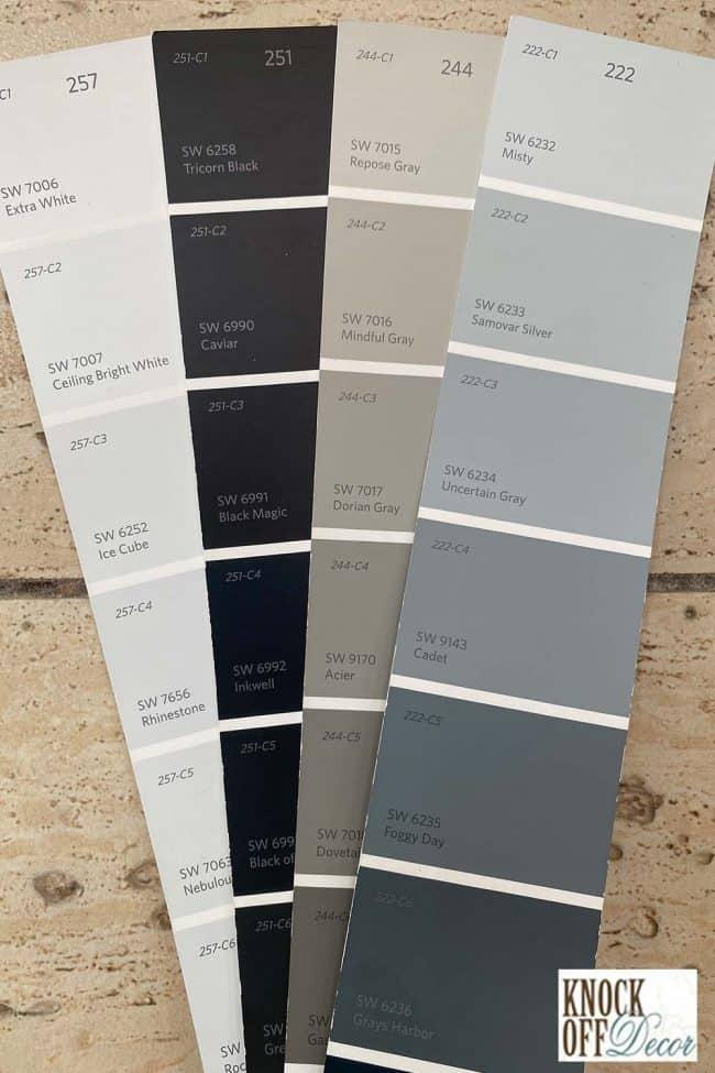 SW Misty coordinated Color Deck