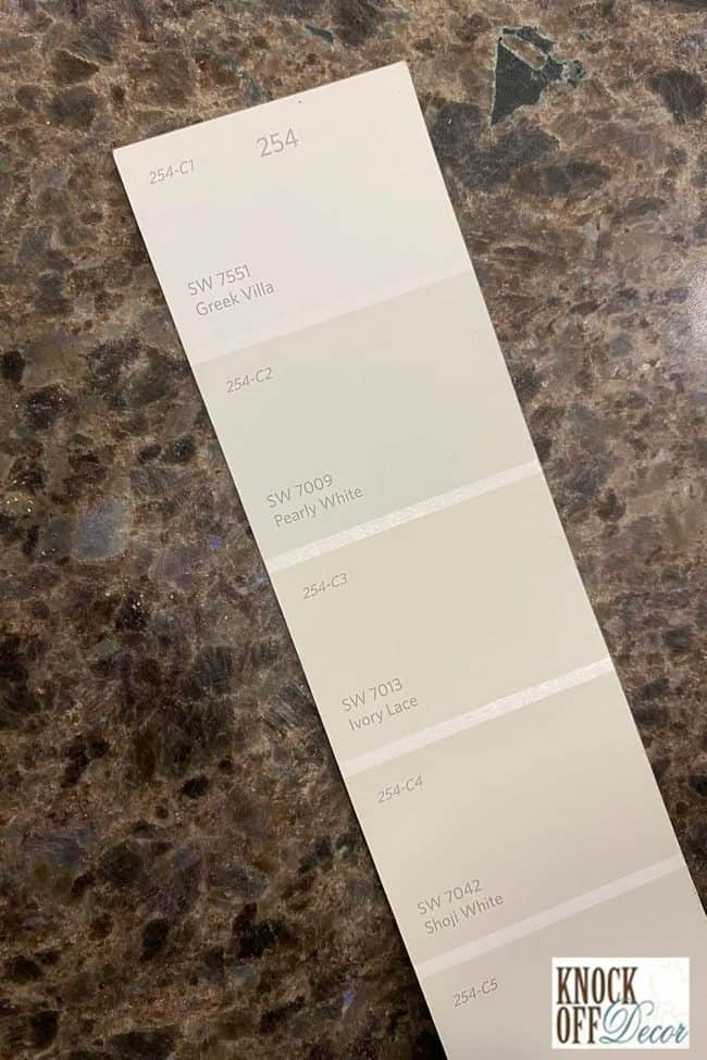 SW Pearly white Color Deck