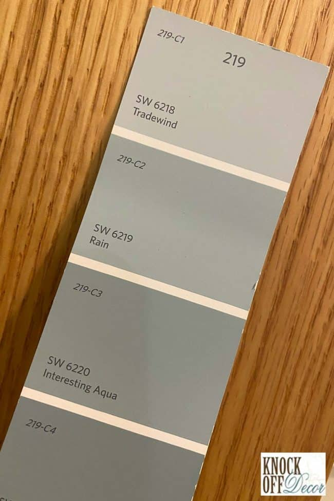 SW Rain Color Deck