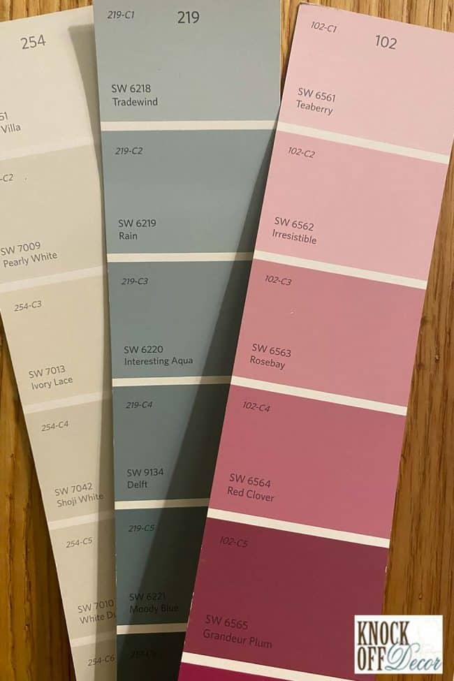 SW Rain coordinated Color Deck