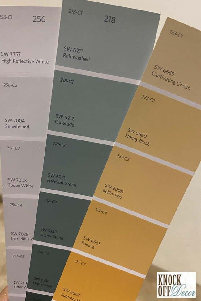SW Rainwashed Color Deck