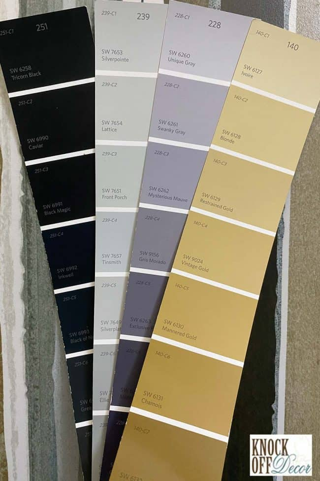 SW Silverplate coordinated Color Deck