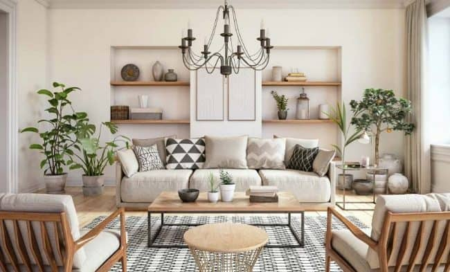 SW White Duck living room
