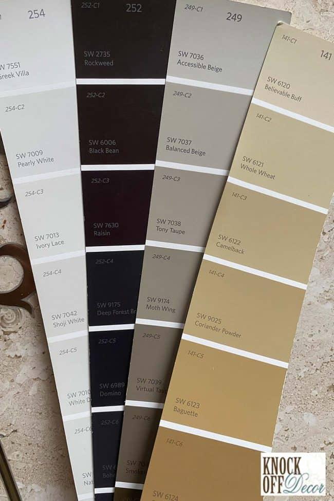 SW balanced beige coordinated Color Deck