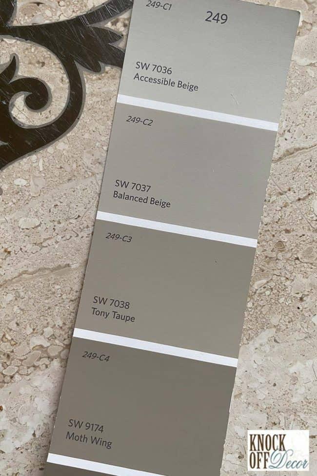 SW balanced beige single Color Deck