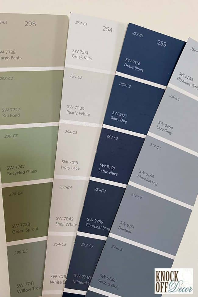 SW coordinated lazy gray Color Deck