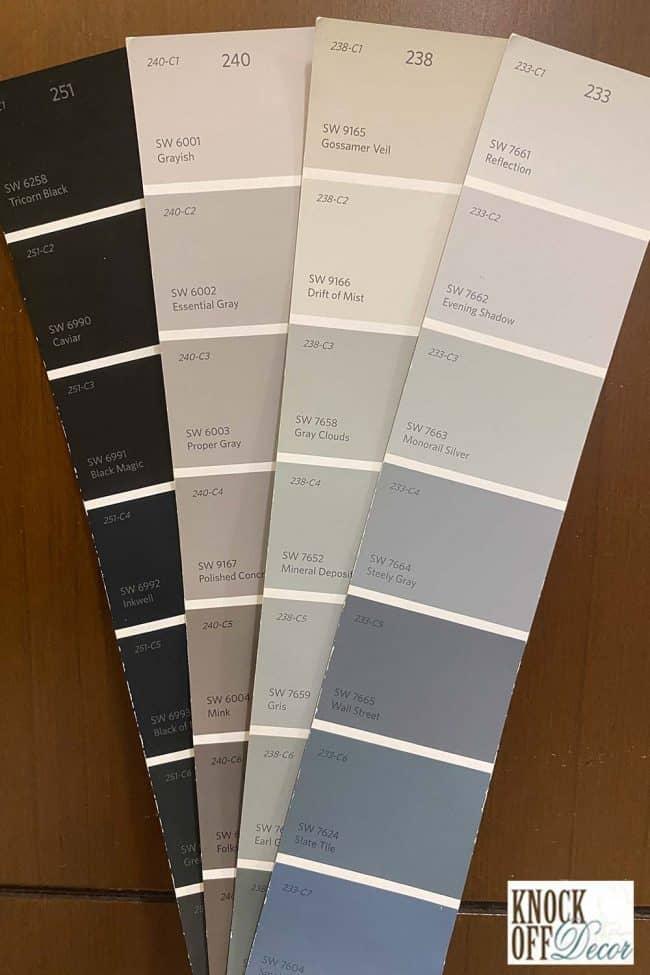 SW drift of mist coordinated Color Deck