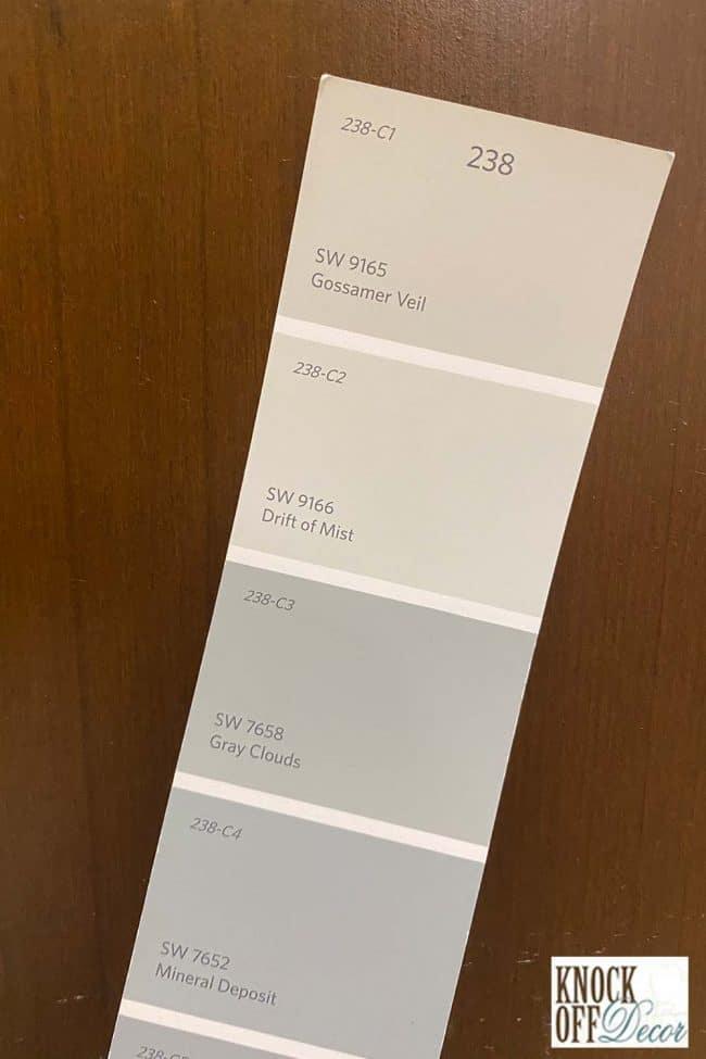 SW drift of mist single Color Deck