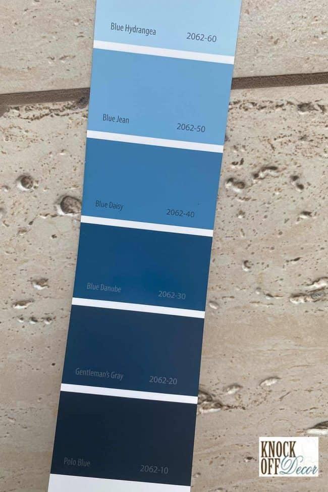 SW gentlemans gray palette