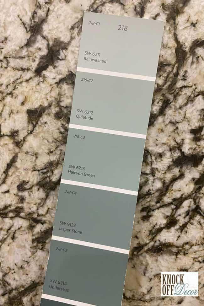 SW quietude palette
