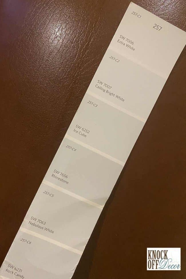 SW rhinestone coordinated color palette