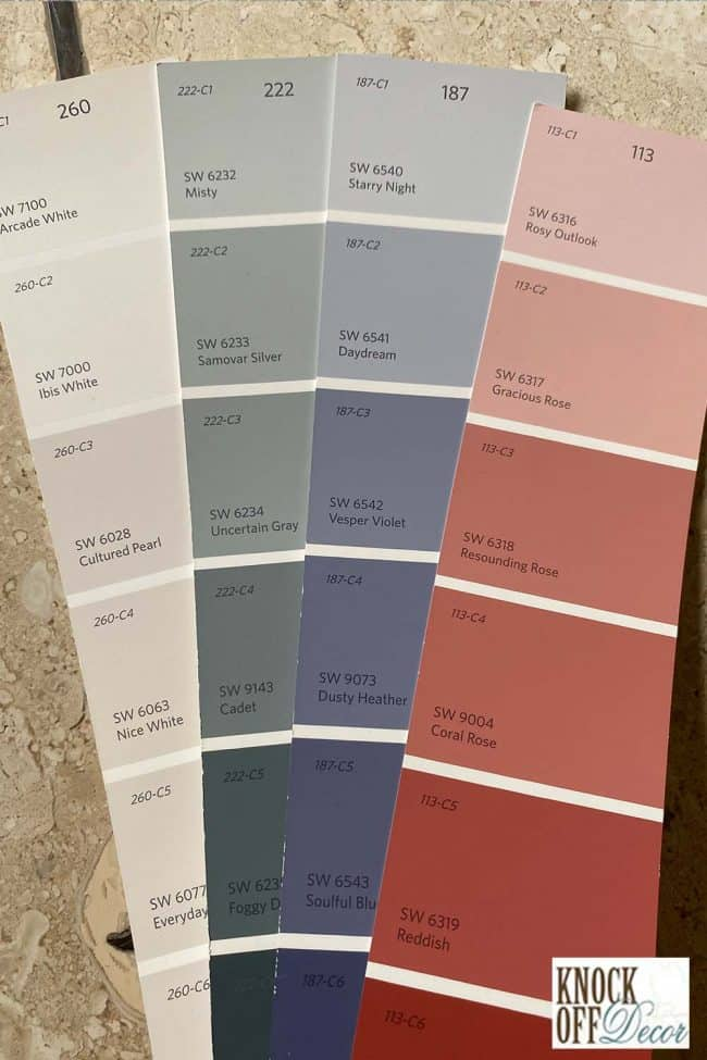 SW rosy outlook coordinated Color Deck