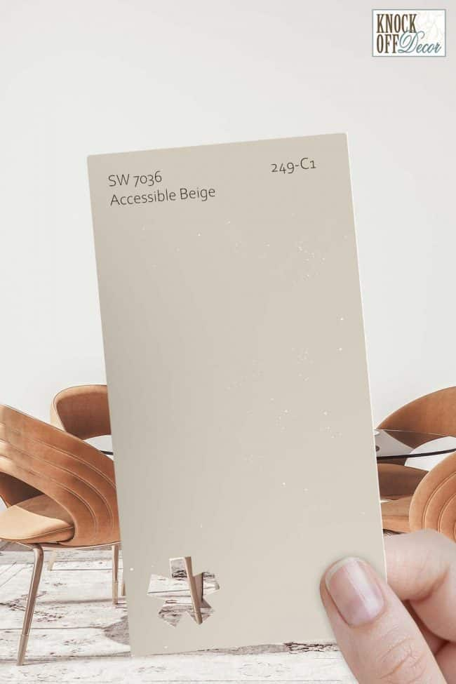 SW single accessible beige chip