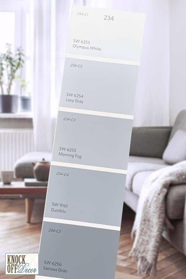 SW single lazy gray Color Deck