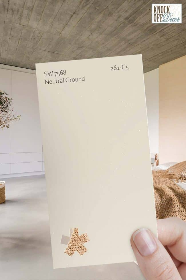 SW neutral ground single paint chip