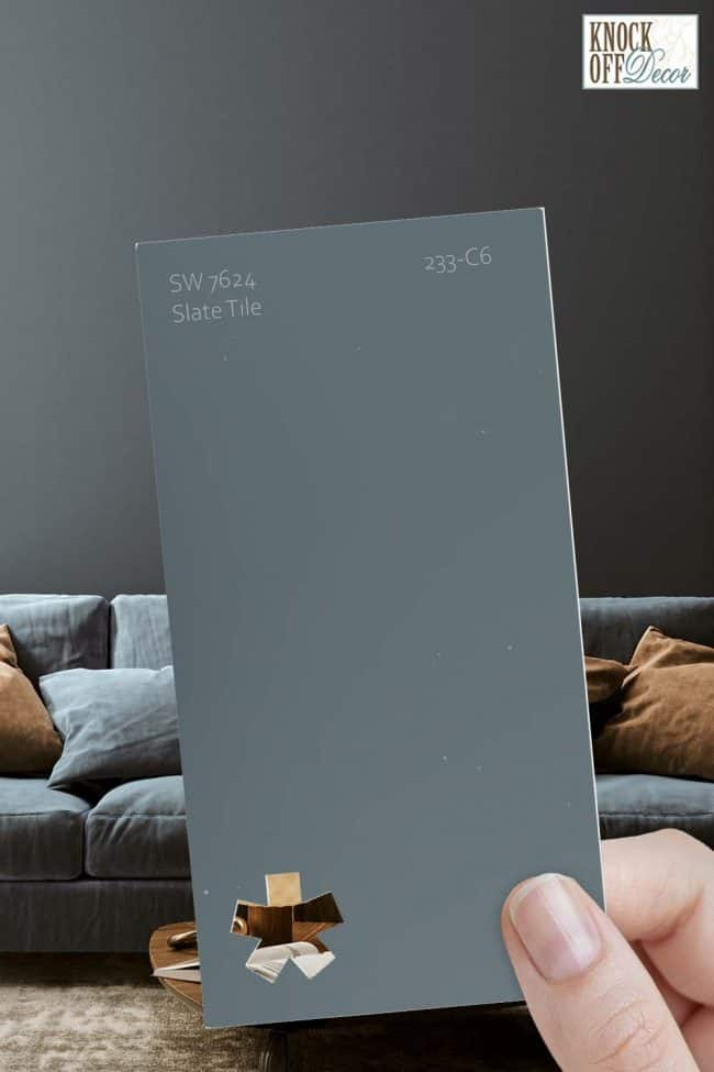 SW single slate tile chip