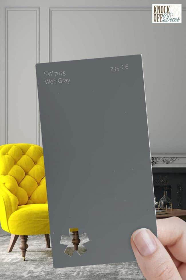 SW single web gray chip