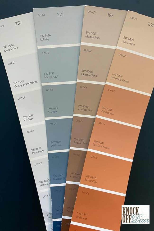 SW waterloo palette
