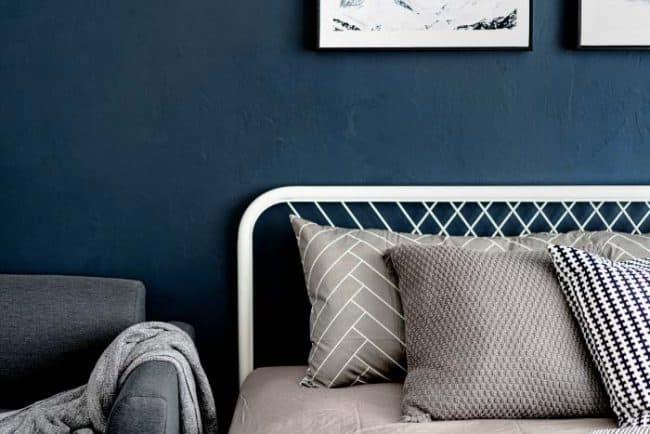 Salty Dog Dark Blue Bedroom