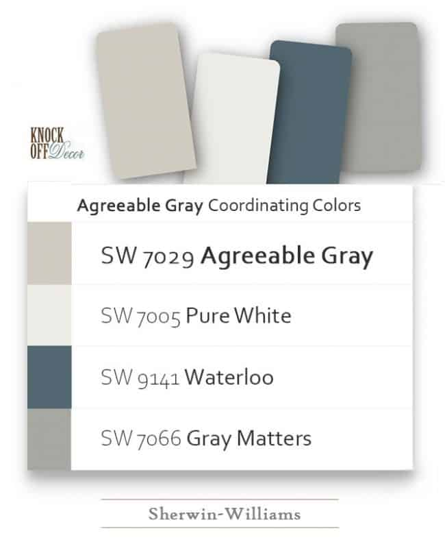 agreeable gray coordination