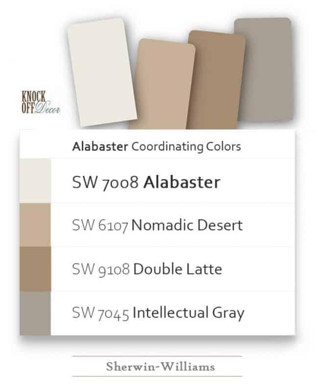 alabaster coordination