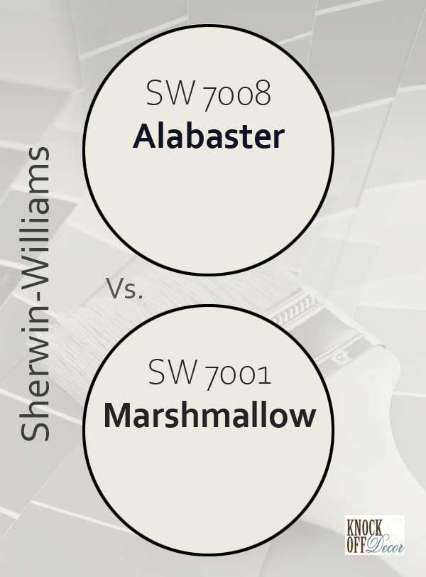 alabaster vs marshmallow