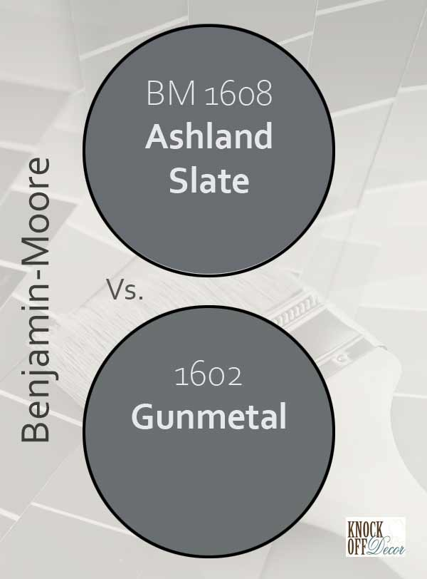 ashland slate vs gunmetal