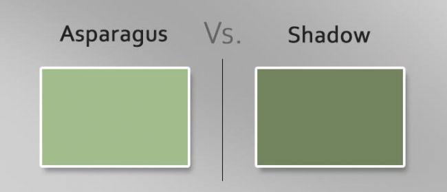 asparagus vs shadow