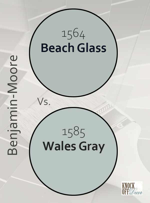 beach glass vs wales gray