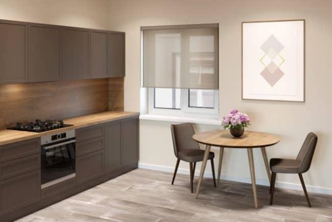 beige kitchen interior example