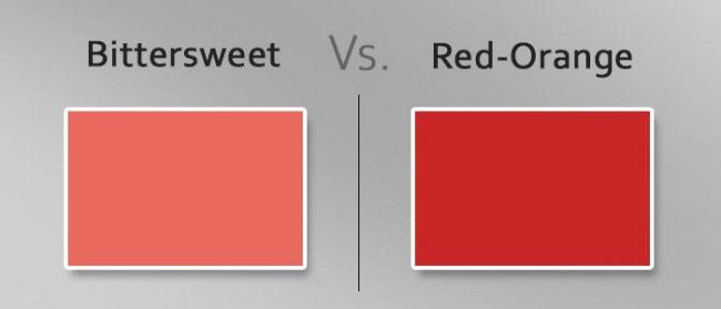 bittersweet vs red orange