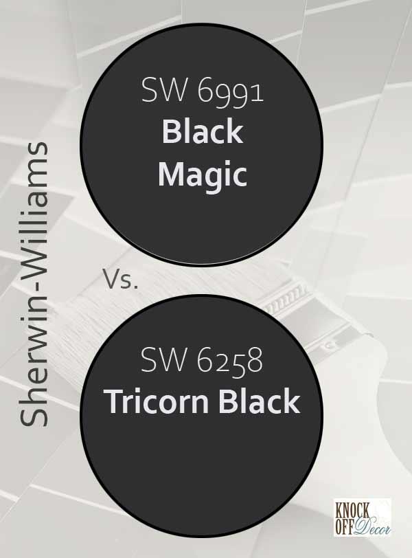 black magic vs tricorn black