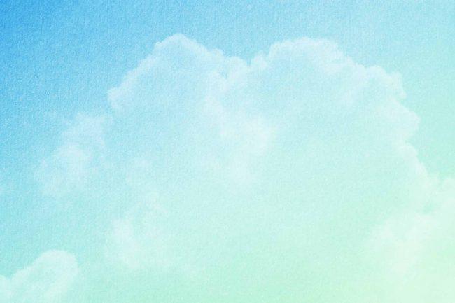 blue green texture cloud