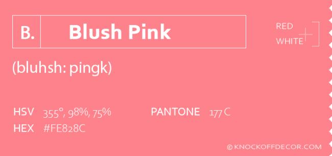 blush pink info box
