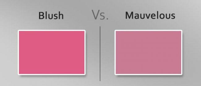 blush vs mauvelous