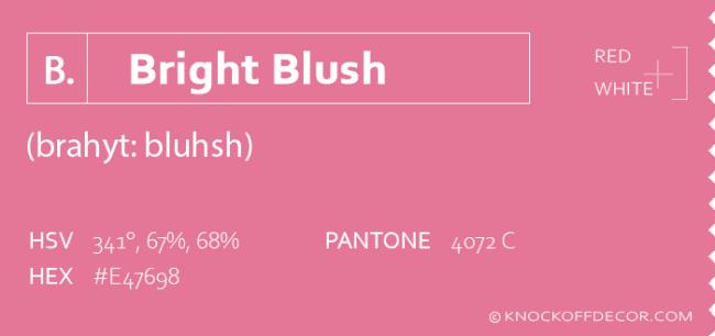 bright blush info box