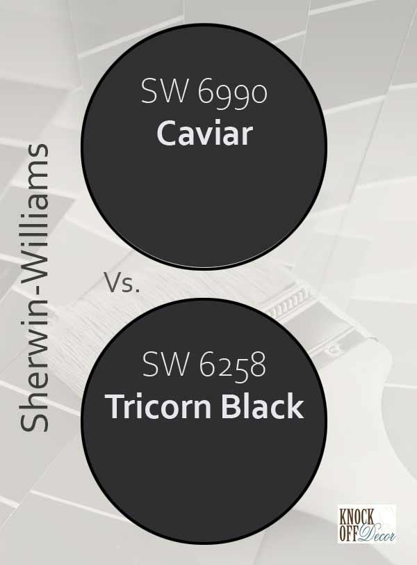caviar vs tricorn black