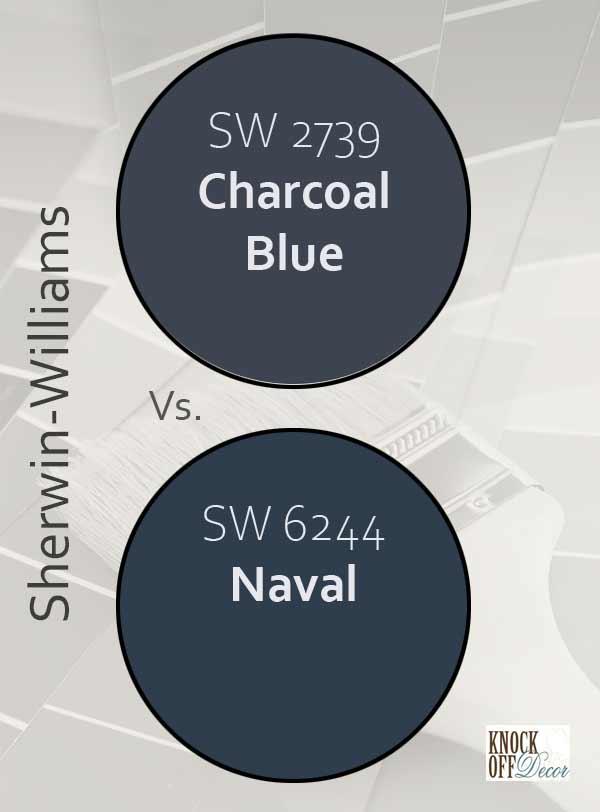 charcoal blue vs naval