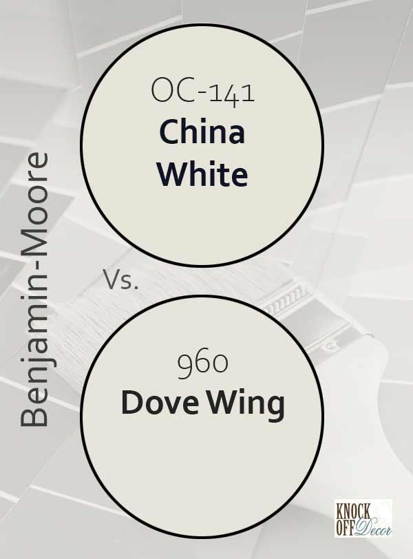 china white vs dove wing