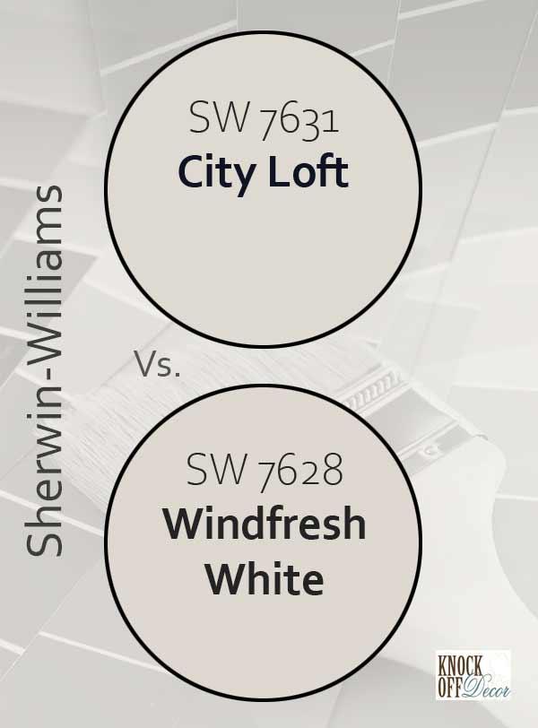 city loft vs windfresh white