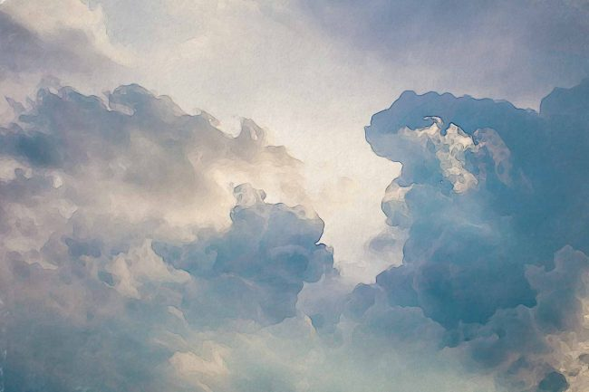 cloud sky blue 1